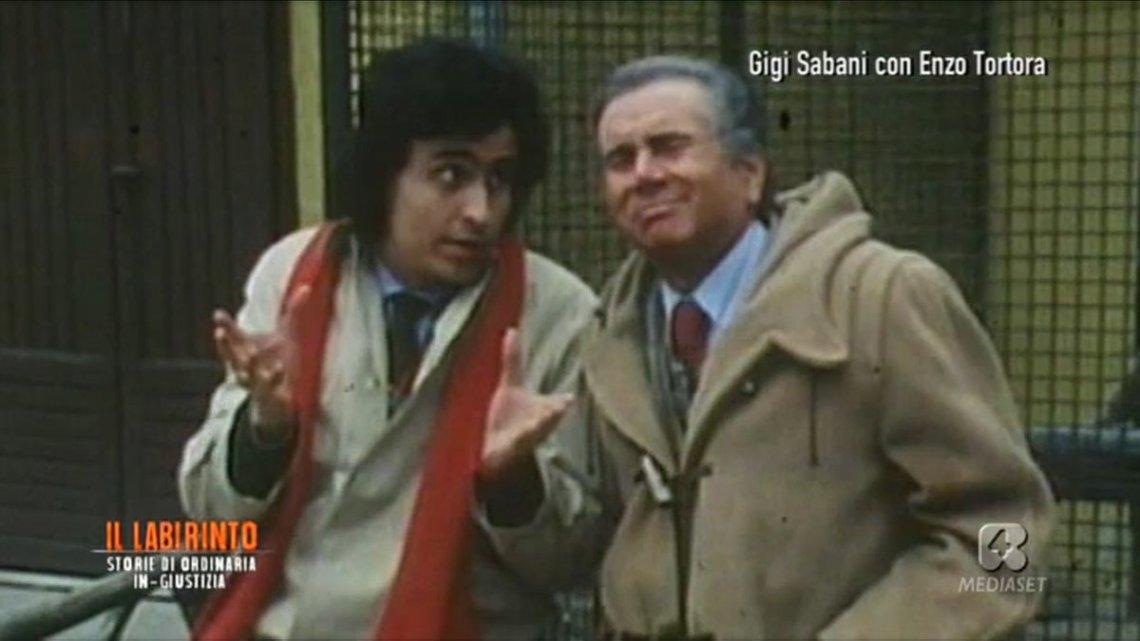 Enzo Tortora e Gigi Sabani