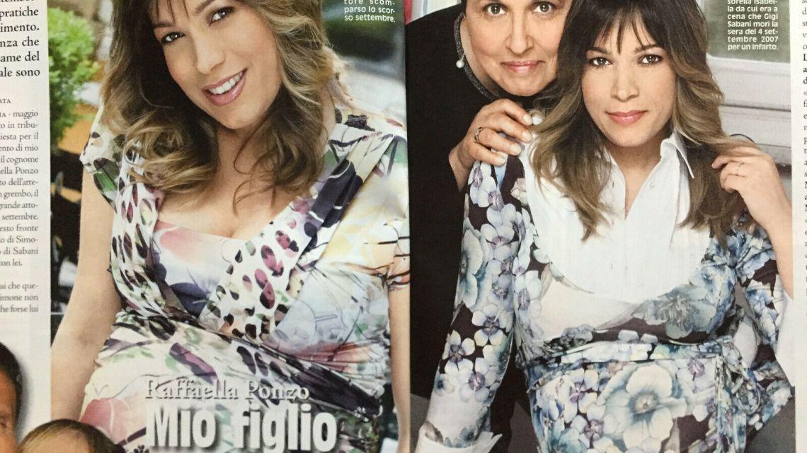 """Diva e Donna – 19/2008 – Raffaella Ponzo: """"Mio figlio si chiamerà Sabani"""""""