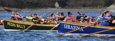 Helford Gig Club Head of the River Race