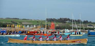 TOGETHER AGAIN: Flushing & Mylor Pilot Gig Club and Nankersey Rowing Club to reunite