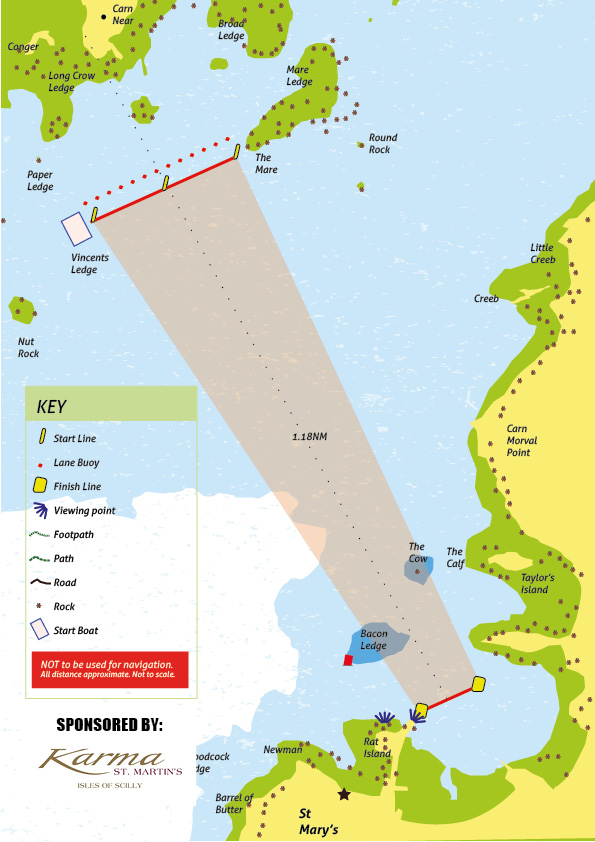 Scilly Race Chart 20162