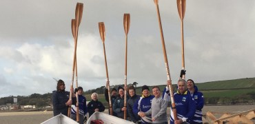 Rock have new oars thanks to Sharp's