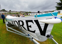 Torpoint launch of Walter Hicks Gig sponsored by Korev, St. Austell Brewery