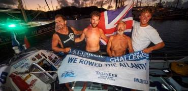 Langstone Gig Rower Tames The Atlantic