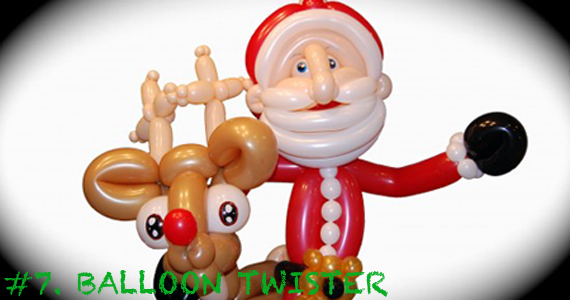 Kids love balloon animals- and let's just admit it- adults do, too. These aren't the dog-shaped balloons you learned to make in the first grade. We've got over 1500 Balloon Twisters for hire at Gig Salad and they're ready to twist up the holidays before your very eyes! Photo Credit: Twisted Artz LLC -http://www.gigsalad.com/twisted_artz_llc_kissimmee