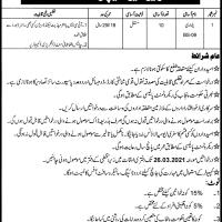 Revenue Department AC Shahkot Latest Jobs 2021 as Patwari