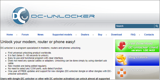 DC-unlocker is one of the best Mobile Phone Unlocking Software.
