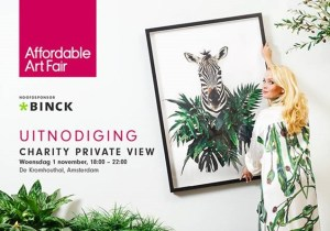 private view Gijs Pape affordable art fair 2017