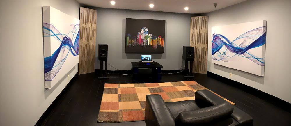acoustic art panels 2 inch