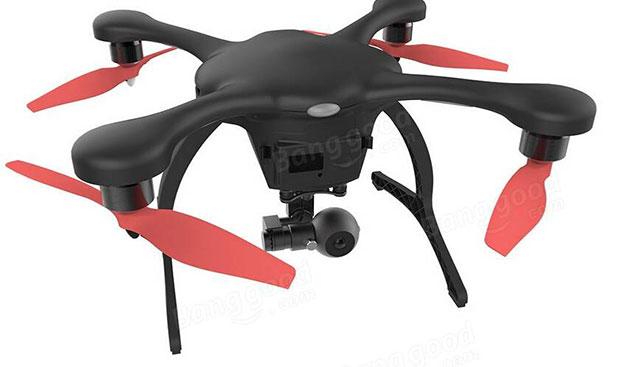 EHANG GHOSTDRONE 2.0 AVATAR Flight FPV Quadcopter facing down motor