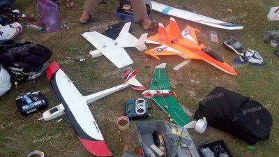 Hobi Pesawat RC Gabus Aeromodeling