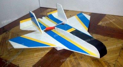 Jual Pesawat RC Jet Micro Gabus DIY ARF dan RTF (Sold Out)