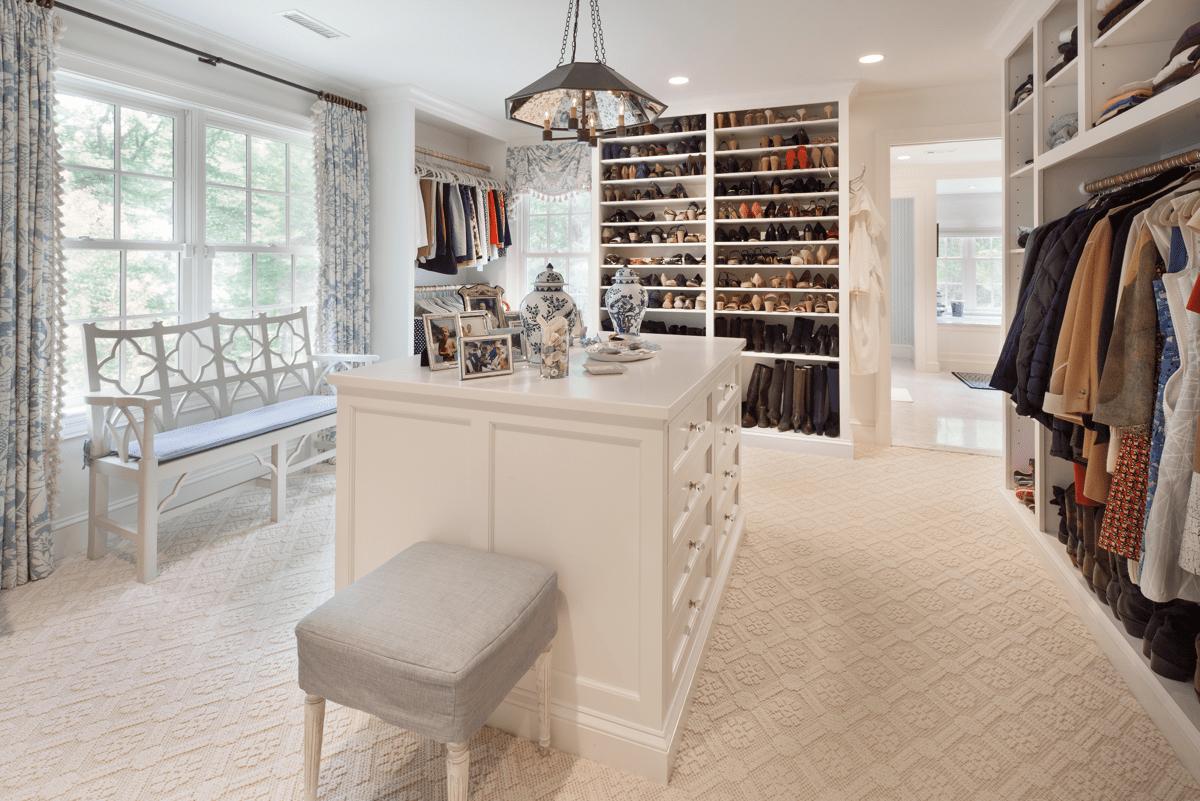 spare bedroom into a walk in closet