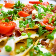 Bacon-Cheese-Nachos