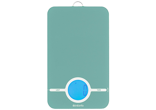 Brabantia Essential Digital Kitchen Scales - Mint