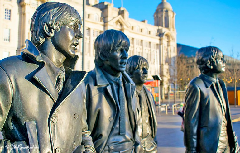 Beatles Tour Liverpool Gilded Gingerbread