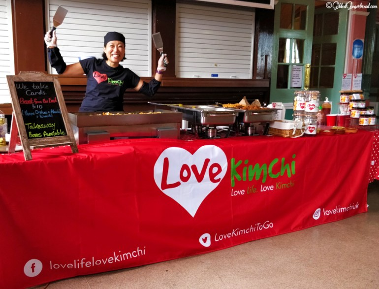 Saltaire Holistic Health Fair Gilded Gingerbread Love Kimchi