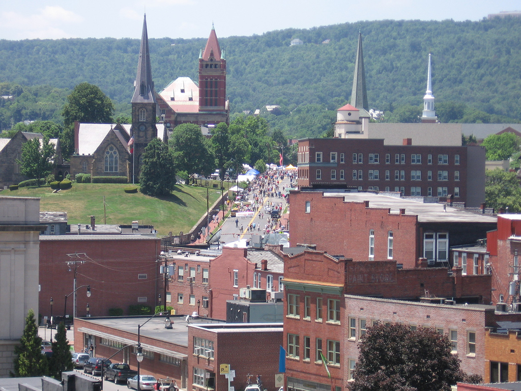 Cumberland, a city in Western Maryland located on the banks of the Potomac River and Wills Creek in Allegany County