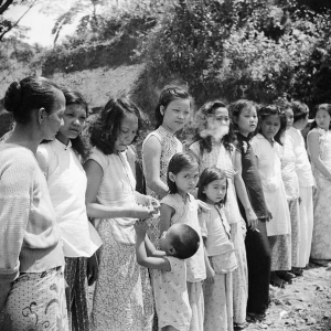 Chinese and Malayan girls used as comfort women