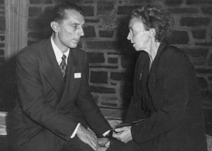 Irene Joliot-Curie and Fredric