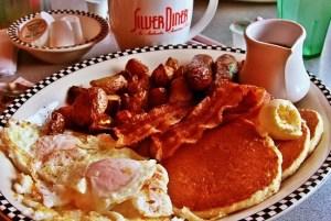 A lumberjack breakfast.