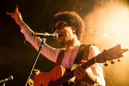New York, NY - January 11, 2018: Lean On Me: Jose James celebrates Bill Withers during 2018 New York Winter Jazz Festival at Le Poisson Rouge