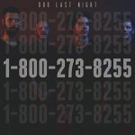 """Album art for 2018 Grammy-nominated """"1-800-273-8255,"""" by Logic."""