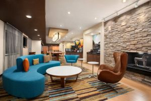 Lobby-area, SpringHill Suites, Bloomington