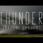 "Album art for 2018 Grammy-nominated ""Thunder"" by Imagine Dragons."