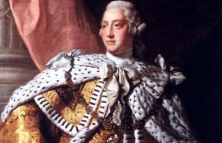 King George III, ruler during the Revolutionary War diseases