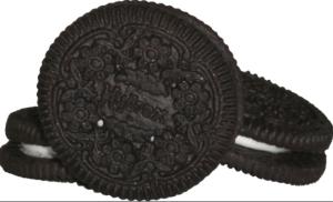 The Hydrox cookie design Oreo