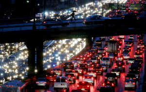 Just another run-of-the-mill 2018 traffic jam in L.A.