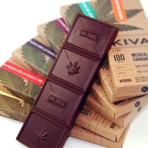 New products? Kiva chocolate.