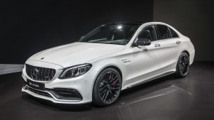 "Mercedes subscription offers this C63 in its ""Premier"" line."