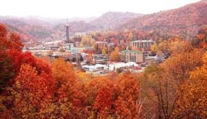 Gatlinburg in autumnal attire