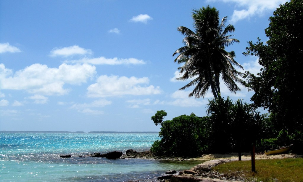 Made up of 33 island atolls in Micronesia, Kiribati is tropical and gorgeous