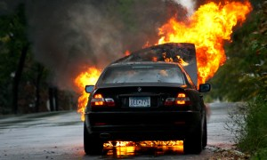 BMW car fires have been reported throughout South Korea.