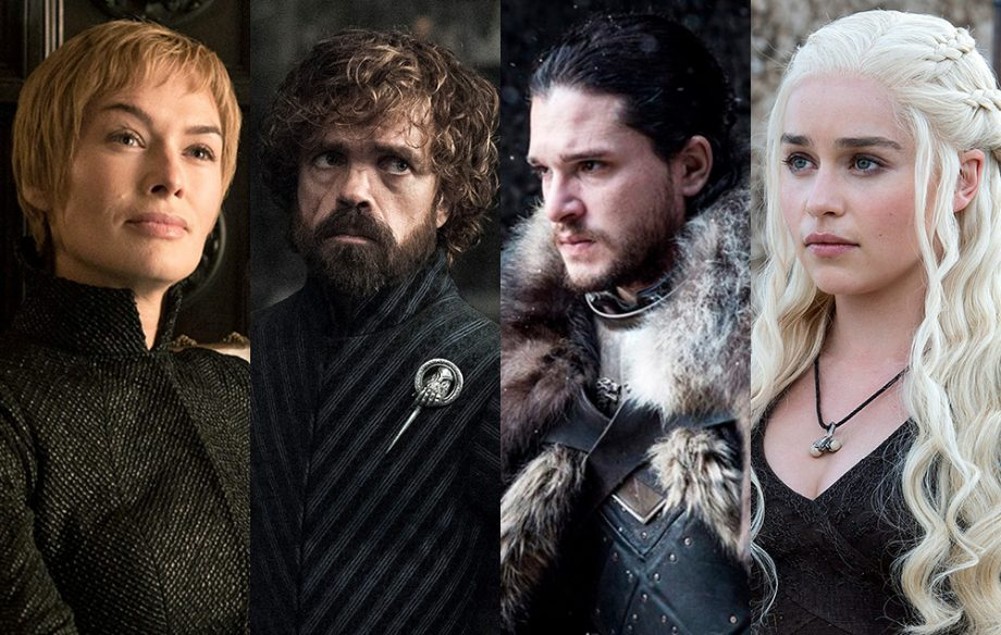 """Key cast members from """"Game of Thrones,"""" the most prominent returner for spring TV."""