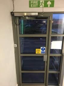 Auto Swing door
