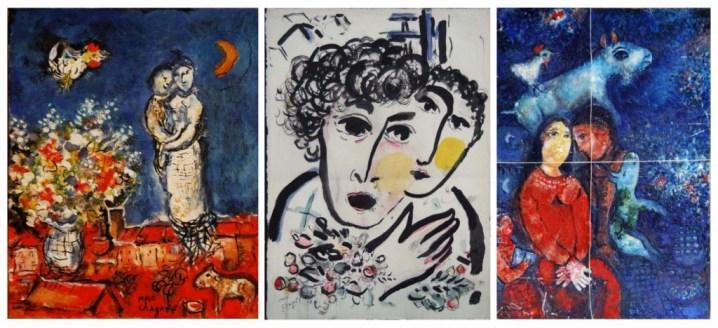 Faux d'après Marc Chagall (aff.Ribes)