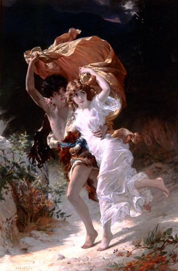 L'orage - Pierre-Auguste Cot (1837-1883)