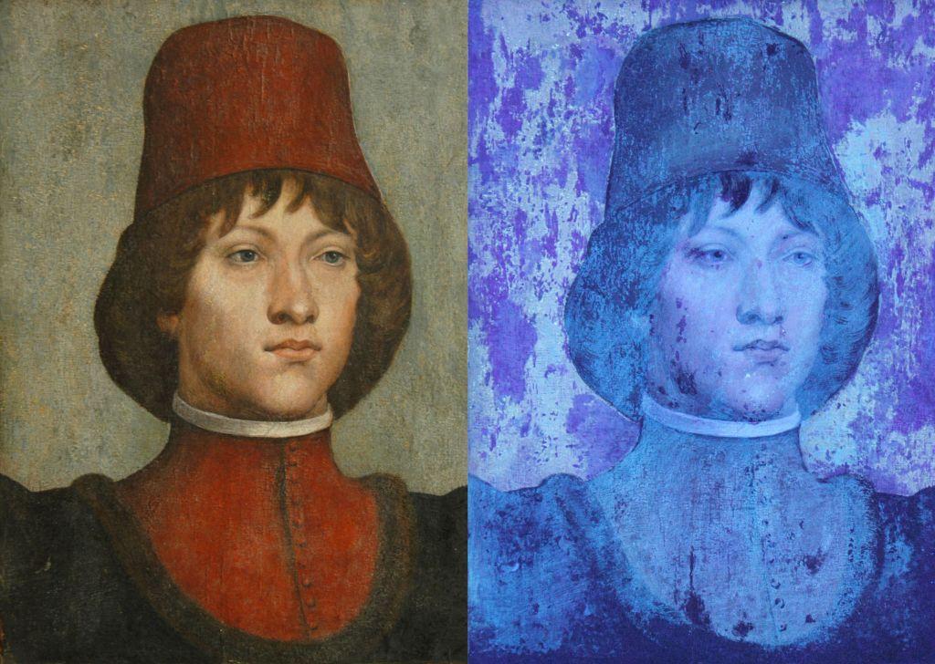 uv Portrait italien UV