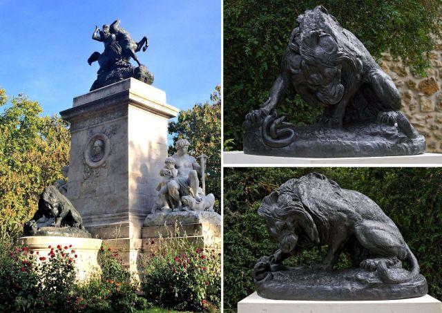 Monument dédié à Barye