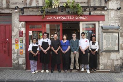 les banquettes rouges restaurant blois un bistrot guilleret le blog de gilles pudlowski les pieds dans le plat