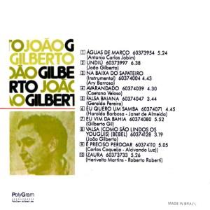João Gilberto - Guitar transcription - Gilles Rea