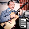 Django Reinhardt Bundle guitar transcription