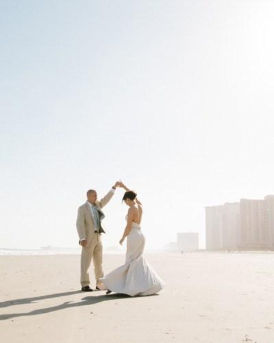 Stephanie & Shane's Beach Wedding is on The Wedding Row Grand Strand – Myrtle Beach, South Carolina