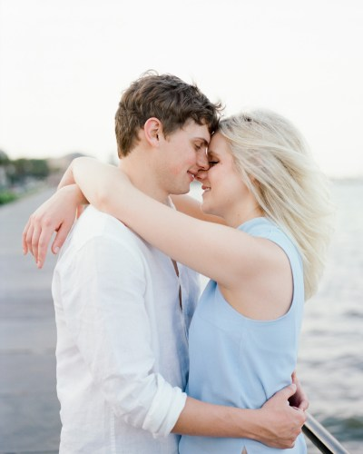 Romantic Engagement Session in Charleston, SC by Charleston Wedding Photographer Gillian Claire
