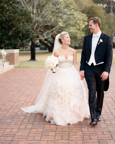 Florence Country Club Wedding for the ages by Gillian Claire – Mary Marshall and Alan