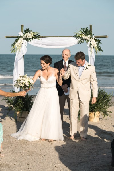 Debordieu wedding on the beach (38)